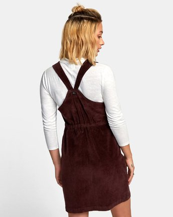 3 North Corduroy Jumper Dress  WD11WRFU RVCA