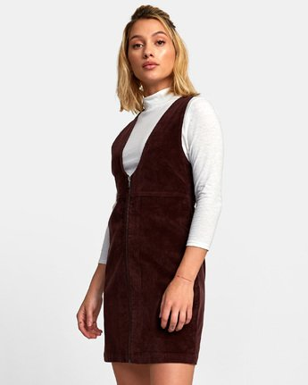 2 North Corduroy Jumper Dress  WD11WRFU RVCA