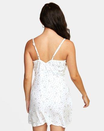 4 LACEY DRESS White WD122RLA RVCA