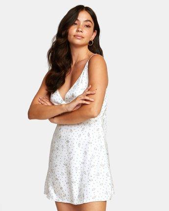 3 LACEY DRESS White WD122RLA RVCA