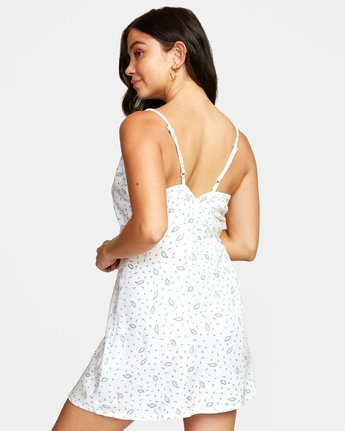 5 LACEY DRESS White WD122RLA RVCA