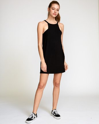 5 Bailey Knit Dress Black WD12VRBA RVCA