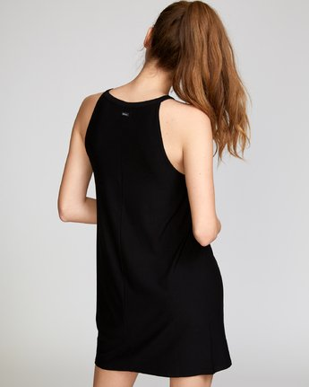 3 Bailey Knit Dress Black WD12VRBA RVCA
