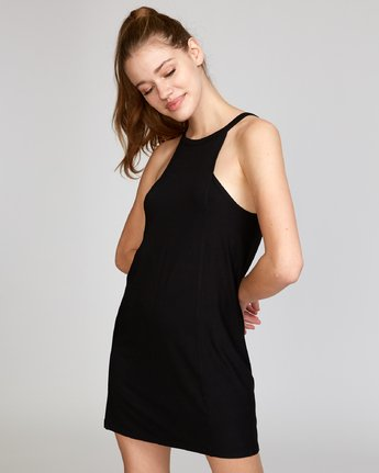 1 Bailey Knit Dress Black WD12VRBA RVCA