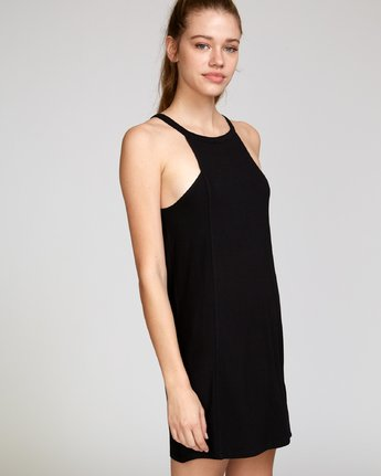 2 Bailey Knit Dress Black WD12VRBA RVCA