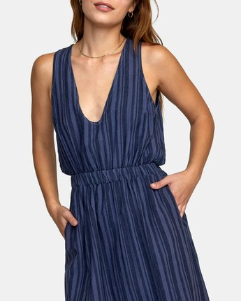4 MOCHA DRESS Blue WD132RMO RVCA