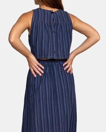 6 MOCHA DRESS Blue WD132RMO RVCA