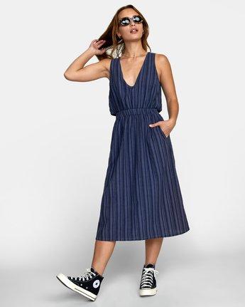 2 MOCHA DRESS Blue WD132RMO RVCA