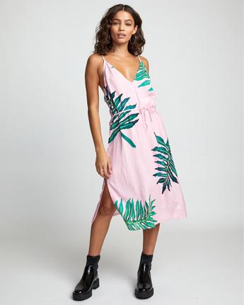 6 PALMER DRESS Pink WD133RPA RVCA