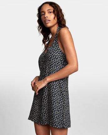 2 90s Baby Halter Dress Black WD13TR90 RVCA