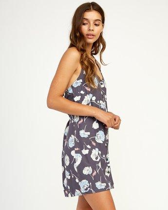 2 90s Baby Halter Dress Grey WD13TR90 RVCA