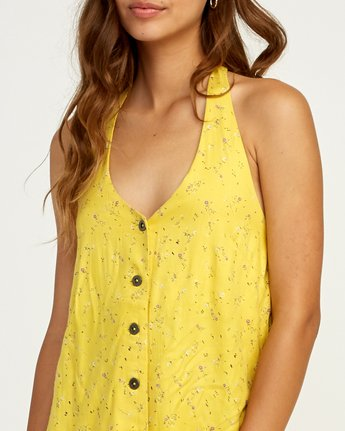 3 90s Baby Halter Dress Yellow WD13TR90 RVCA