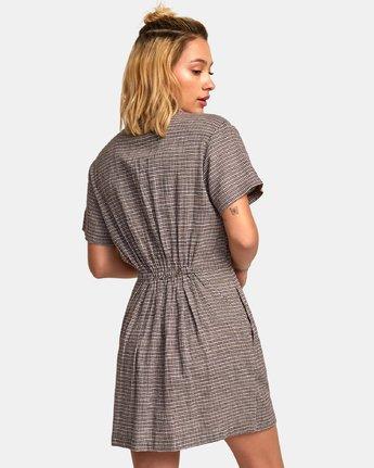 3 Breezy Shirt Dress Brown WD13WRBR RVCA