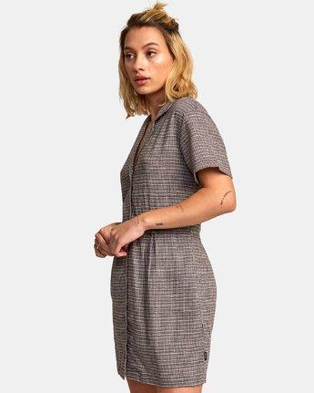 2 Breezy Shirt Dress Brown WD13WRBR RVCA