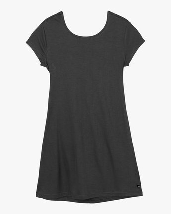 6 Wallflower T-Shirt Dress Black WD15PRWA RVCA