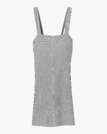 4 Tide Shift Striped Dress Silver WD18QRTI RVCA