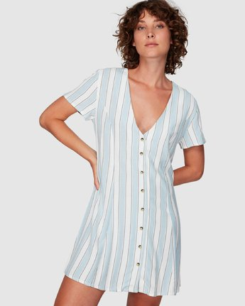 CARAVAN STRIPE DRESS  WD86WRCS