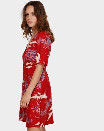 1 Cranes Dress Red WD92VRCR RVCA