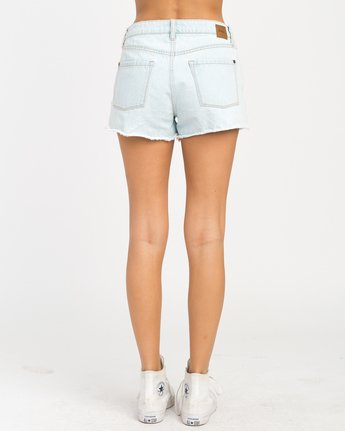 3 The BF Denim Shorts Blue WG201THE RVCA