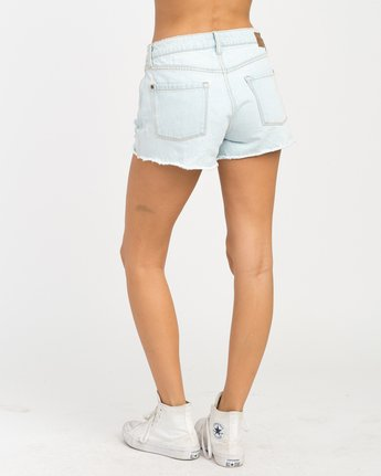 2 The BF Denim Shorts Blue WG201THE RVCA