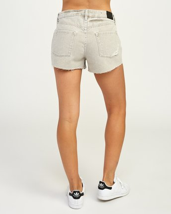 4 The BF Denim Shorts Brown WG201THE RVCA