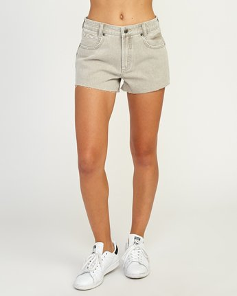 1 The BF Denim Shorts Beige WG201THE RVCA