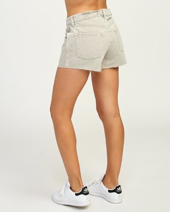 3 The BF Denim Shorts Beige WG201THE RVCA