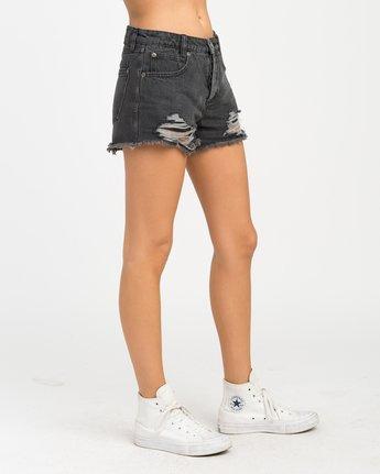 4 The BF Denim Shorts Black WG201THE RVCA
