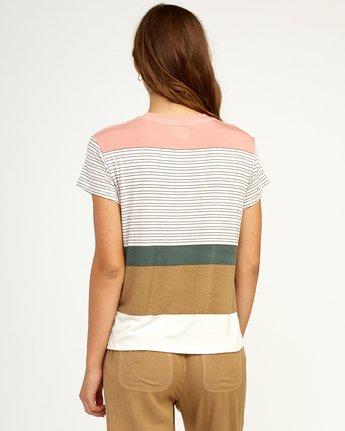 2 Recess Striped Knit T-Shirt Multicolor WK905REC RVCA