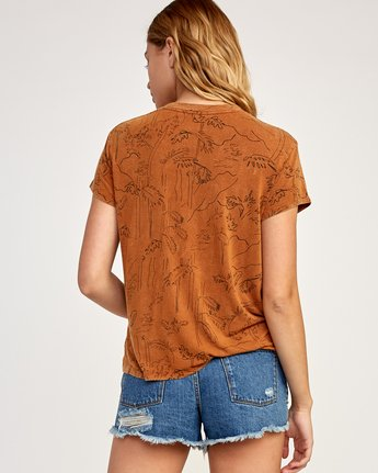 2 Suspension Printed Top Orange WK906SUS RVCA