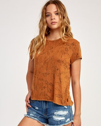 0 Suspension Printed Top Orange WK906SUS RVCA