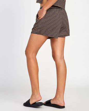 2 Rebound Knit Soft Short Brown WL02VRRE RVCA