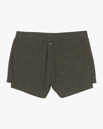 6 Chill Down Fleece Short Grey WL03SRCH RVCA