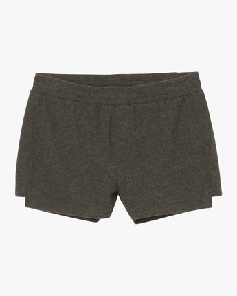5 Chill Down Fleece Short Grey WL03SRCH RVCA