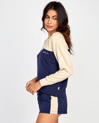 1 Sophmore Fleece Pullover Blue WL04VRSO RVCA