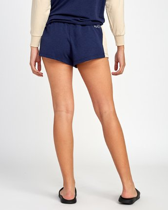 2 Kennedy Fleece Soft Short Blue WL05VRKE RVCA