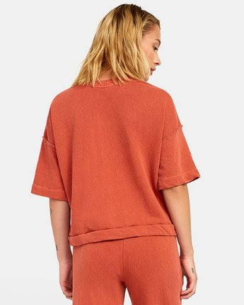1 VEGAS PULLOVER TOP Orange WL061RVE RVCA