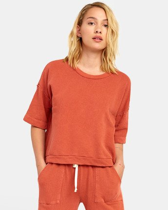 0 VEGAS PULLOVER TOP Orange WL061RVE RVCA