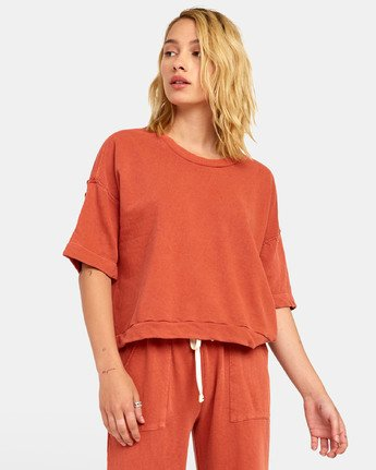 2 VEGAS PULLOVER TOP Orange WL061RVE RVCA