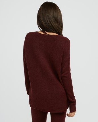 1 Urboyfriends Knit Henley Sweater  WL06SRUR RVCA
