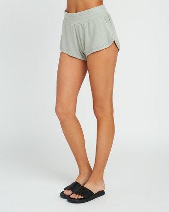 2 Daydream Knit Elastic Short Green WL07URDS RVCA