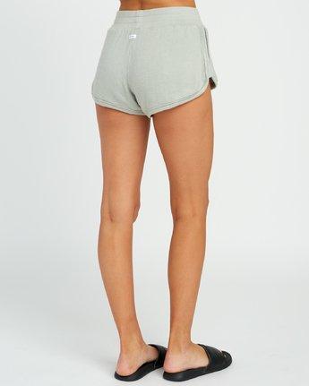 4 Daydream Knit Elastic Short Green WL07URDS RVCA