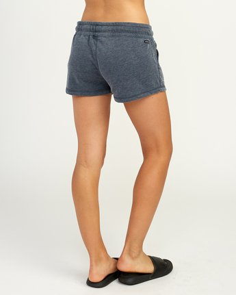 4 Ava Fleece Soft Short Blue WL08TRAS RVCA