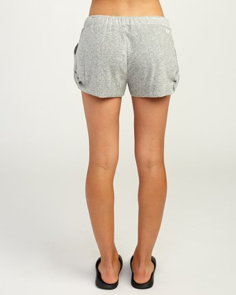 4 Whisper Fleece Soft Short Grey WL10TRWS RVCA