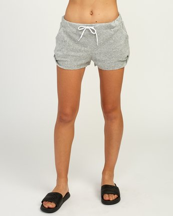 1 Whisper Fleece Soft Short Grey WL10TRWS RVCA