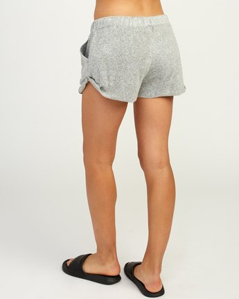 3 Whisper Fleece Soft Short Grey WL10TRWS RVCA