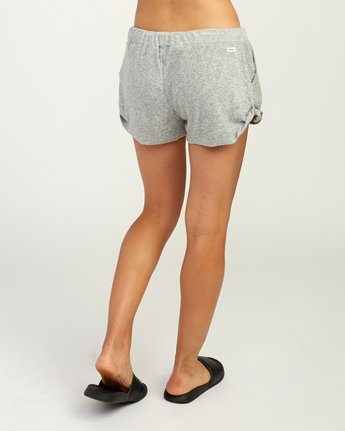 5 Whisper Fleece Soft Short Grey WL10TRWS RVCA