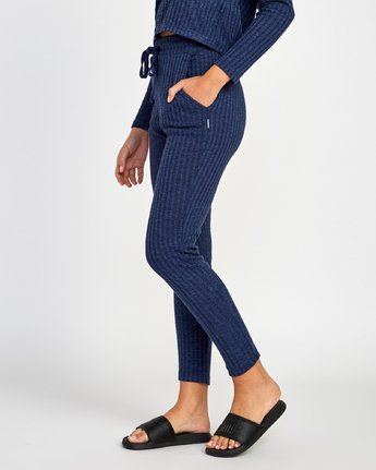 1 Twilight Knit Lounge Pant Blue WL10VRTW RVCA