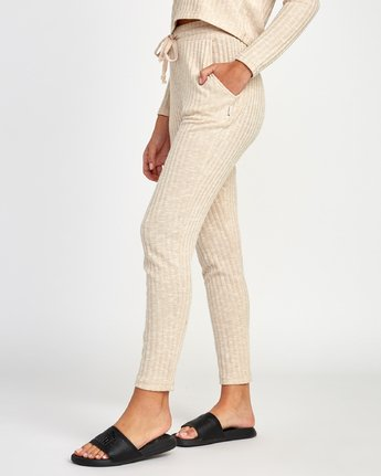 1 Twilight Knit Lounge Pant Beige WL10VRTW RVCA