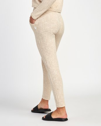 2 Twilight Knit Lounge Pant Beige WL10VRTW RVCA